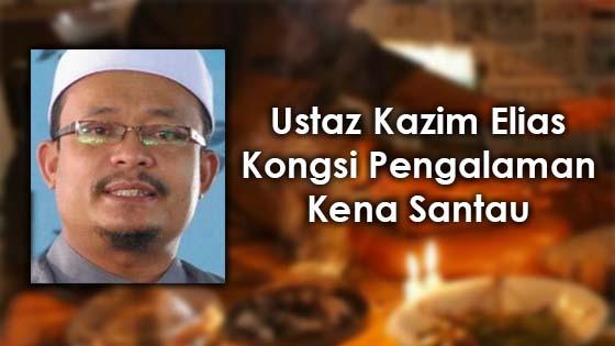 Kisah Ustaz Kazim Elias Kena Santau