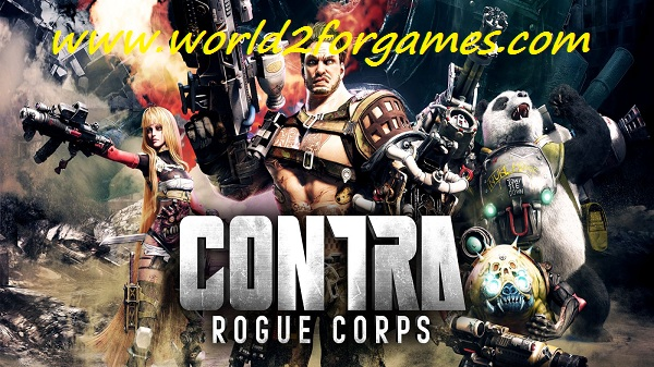 Free Download Contra: Rogue Corps