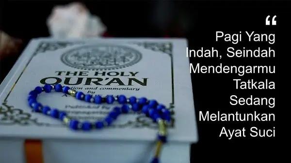 kata ucapan selamat pagi Islami