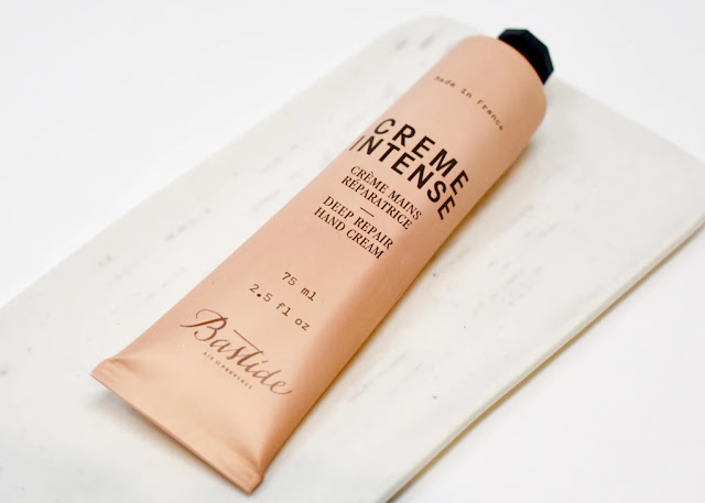 Creme Intense hand cream in a pink tube