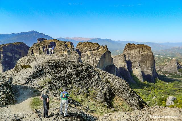 Mirante em Meteora, Grécia