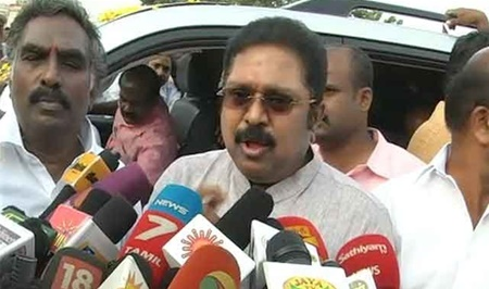 Breaking: TTV Dhinakaran Press Meet On Two Leaves Case Verdict