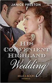 His Convenient Highland Wedding by Janice Preston cover