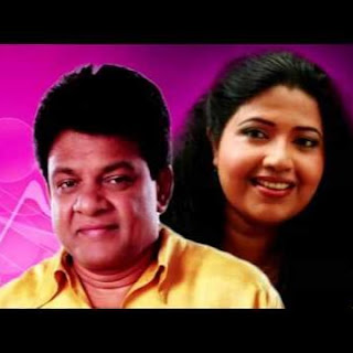 deepika priyadarhani with karunarathna diwulgane