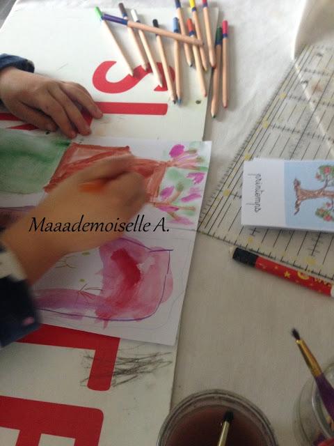 Activité : Arbres des quatre saisons à l'aquarelle