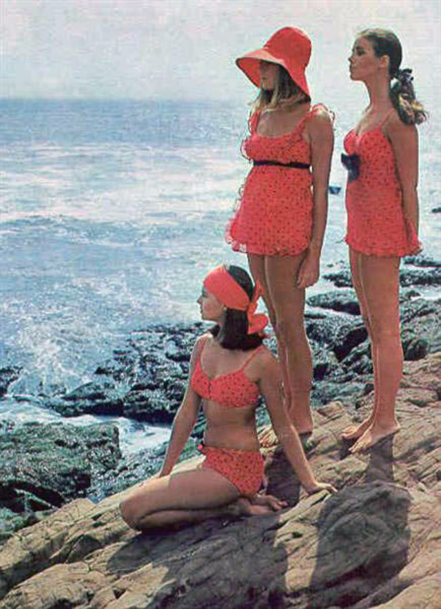 Here Are 12 Reasons Why We Should Be Wearing 1960s Bathing