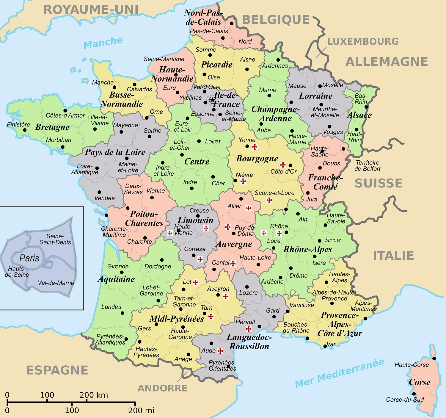 Map Of France Trackidsp 006.Show Map Of France