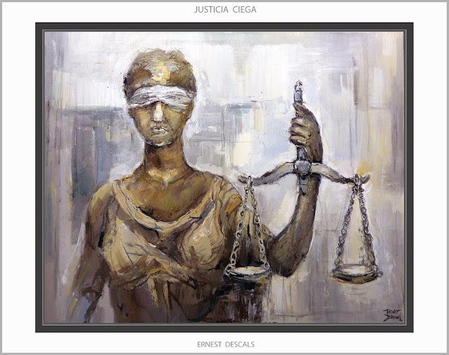 JUSTICIA-PINTURA-CONCURS-COL·LEGI -ADVOCATS-MANRESA-JUSTÍCIA CEGA-ART-QUADRES-ARTISTA-PINTOR-ERNEST DESCALS-