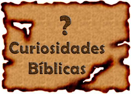 Algumas curiosidades bíblicas. Aprenda mais sobre a Bíblia Sagrada.