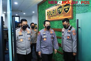 Peluncuran Polri TV dan Radio Ini Harapan Yang Disampaikan Kapolri