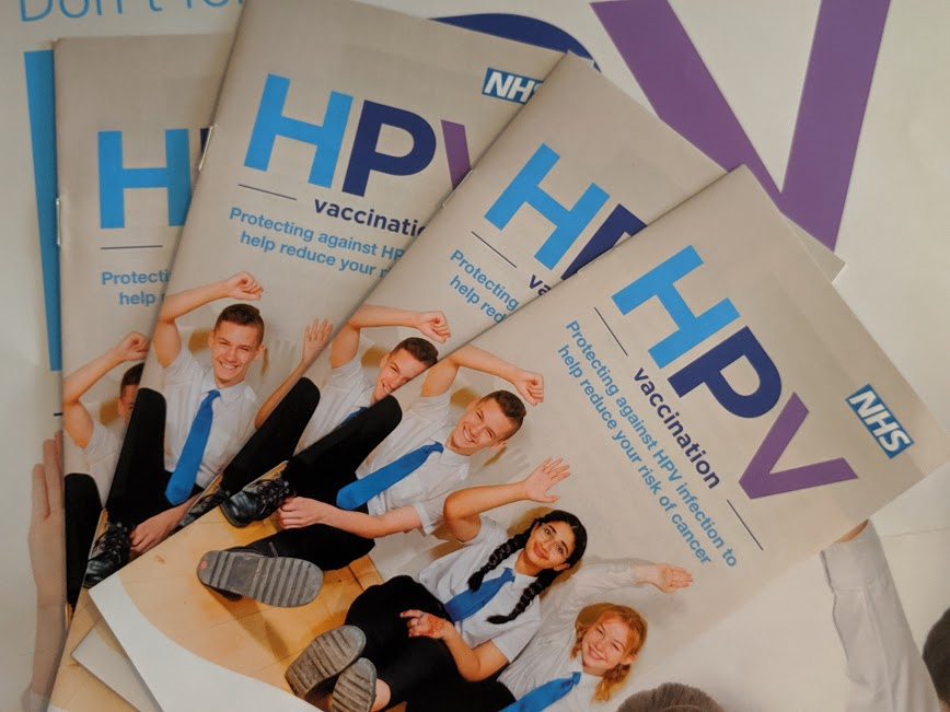IMAGE 6 - HPV leaflets  - A Parent's Guide to the HPV Vaccine for Year 8 Students