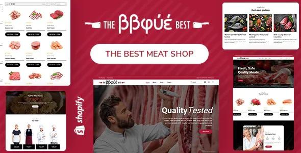 Best Food, Butcher & Meat Shop Shopify Theme