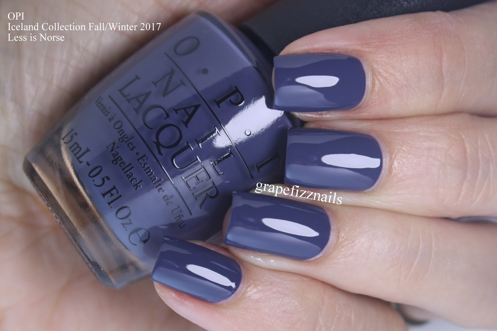 Grape Fizz Nails: OPI Iceland Collection Fall/Winter 2017