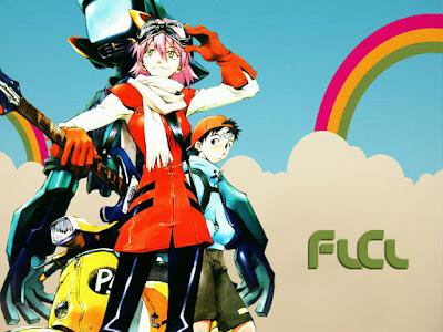 FLCL: Fooly Cooly   FLCL: Furi Kuri   480p   BDRip   Dual Audio