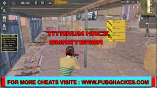 PUBG MOBILE v1.4 TITANUM Free Hack SMARTGAGA