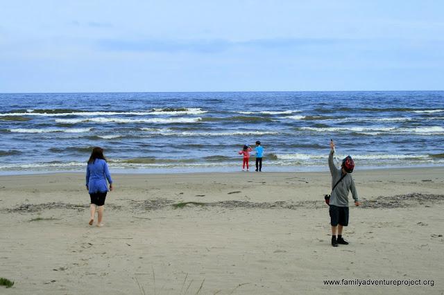 The beach, Jurmala, Latvia