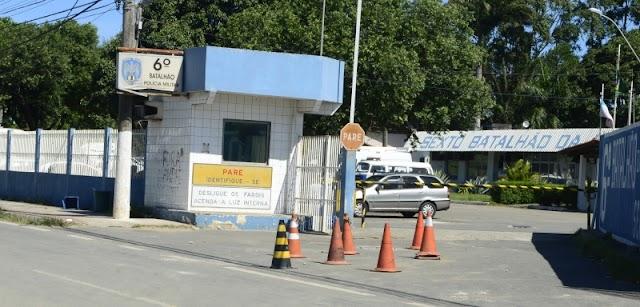 Policial militar é punido por bater viatura ao prender ladrão na Serra