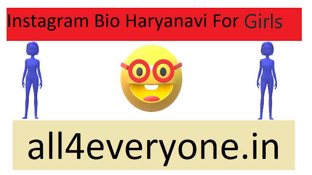 Instagram Bio Haryanvi For Girls