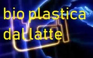 bio plastiche latte