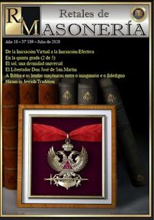 Retales Masonería 109 – Julio 2020