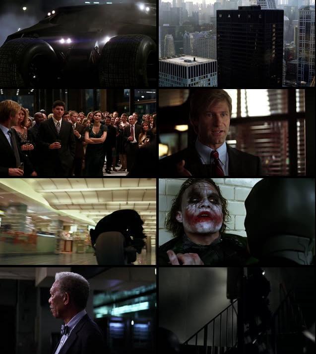 The Dark Knight 2008 Dual Audio Hindi 720p BluRay 1.1GB