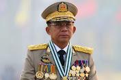 Pemimpin Junta Myanmar Min Aung Hlaing Akan Hadiri KTT ASEAN di Indonesia