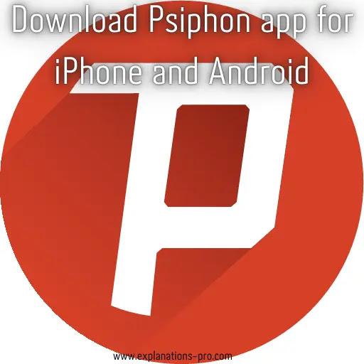 Download Psiphon app