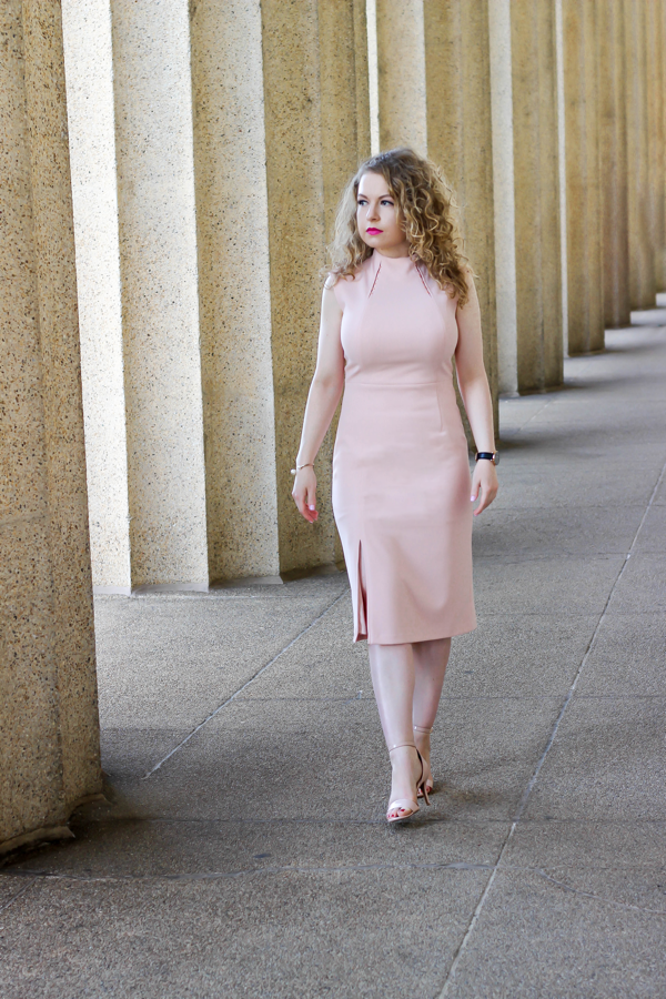 Ivanka Trump Embellished Mock-Neck Sheath Dress, Republican National Convention