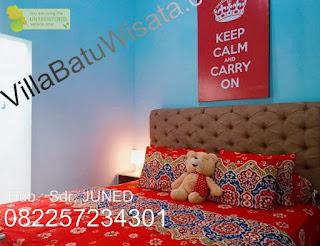 Villa Di Batu Dekat Museum Satwa | Villa Blue Shappire | Villa Batu Wisata
