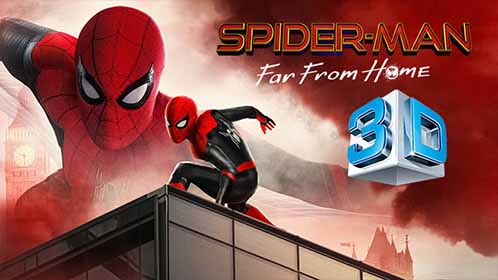 Spider-Man: Lejos de Casa (2019) 3D SBS 1080p Latino-Ingles