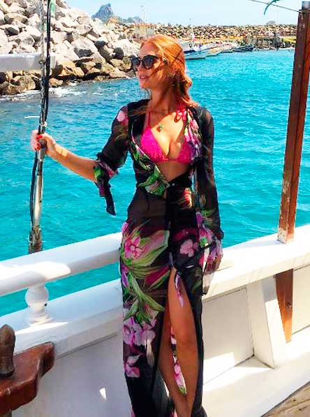 Marina Ruy Barbosa, Look praia 2016