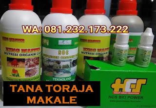 Jual SOC HCS, KINGMASTER, BIOPOWER Siap Kirim Tana Toraja Makale