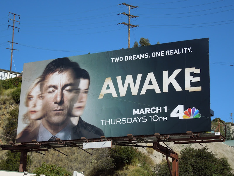 Awake NBC billboard
