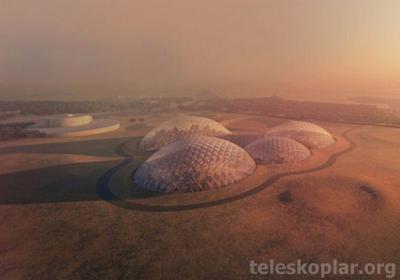 Mars şehir modelleri