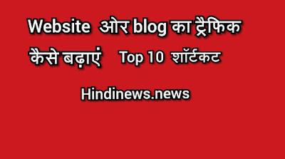 blogspot wordpress blog par traffic kaise incress kare