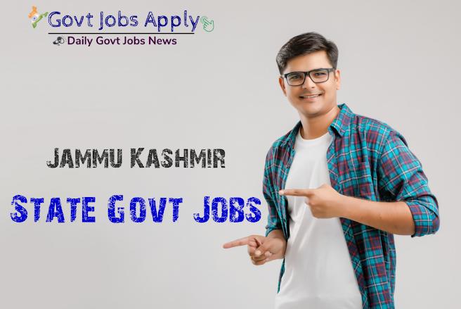 Jammu Kashmir Govt Jobs