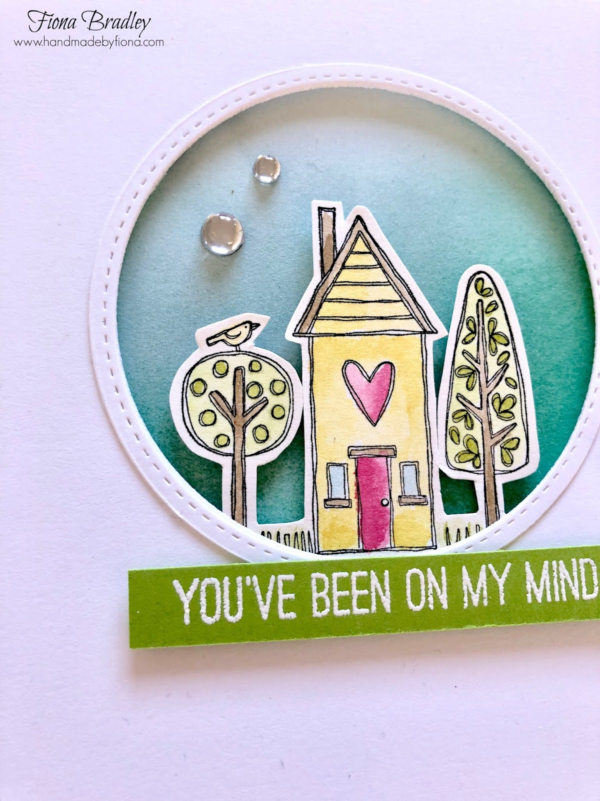 You've Been On My Mind - Handmade by Fiona