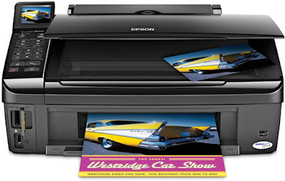 Fi together with Ethernet built inwards percentage 1 printer amongst multiple PCs Epson Stylus NX510 Driver Downloads