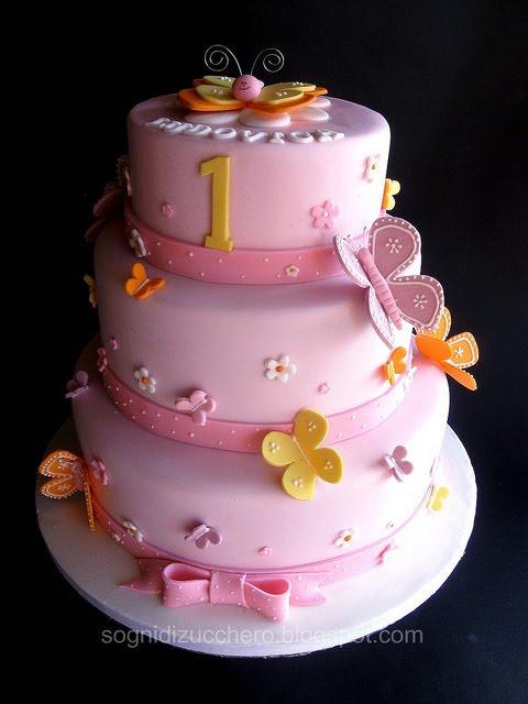 Super sogni di zucchero: Butterfly cake NC37