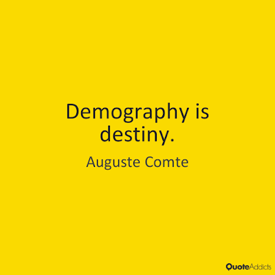 Auguste Comte: Demography is destiny