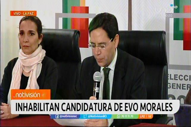 Oficial: Evo Morales queda fuera de comicios Bolivia 2020