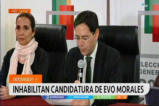 Oficial: Evo Morales queda fuera de comicios del 3 de mayo; Luis Arce continúa en carrera