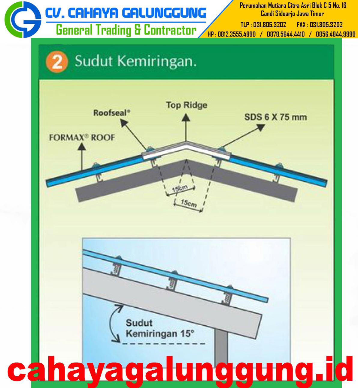 Harga Atap Upvc Formax Roof Terbaru 2018 - CV CAHAYA ...