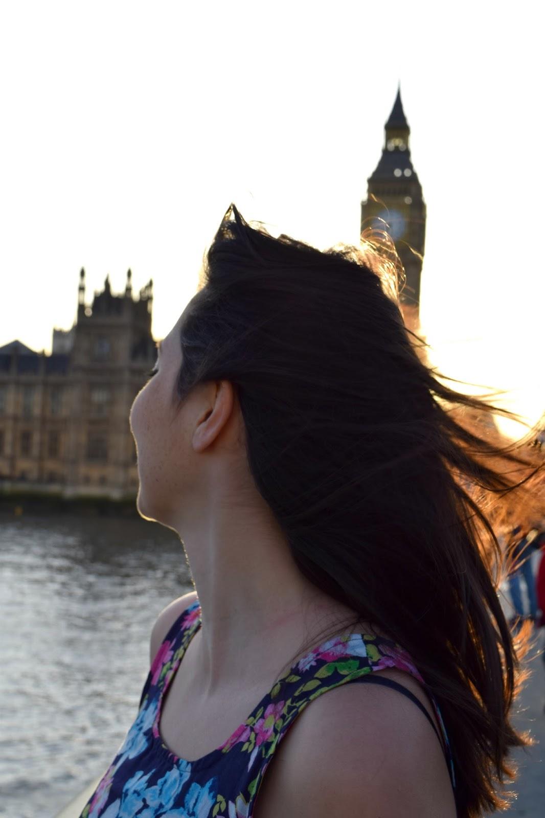 Westminster Bridge London. Big Ben. Expat post.