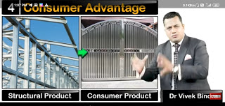 Shiftment Of Structural Product To Consumer Product