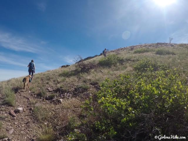 Hiking to Fool Creek Peak