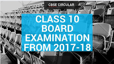CBSE Circular: Restoring of Class X Board Examination with effect from the Academic Year 2017-18