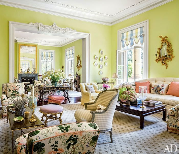 The Glam Pad Mario Buatta And Patricia Altschul Exude