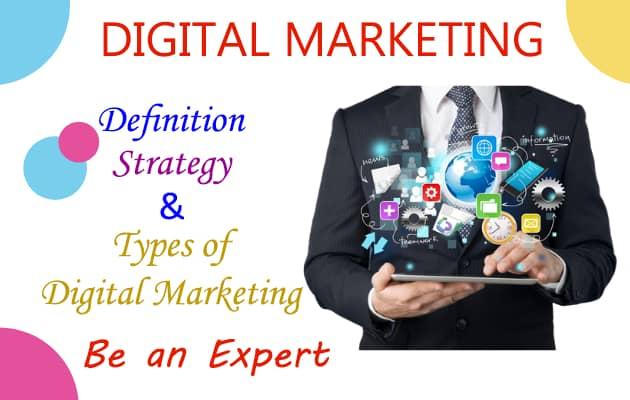 Digital Marketing Definition, Strategy - Digital Marketing Expert