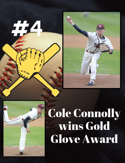 Pitcher Cole Connolly wins Rawlings Gold Glove Award